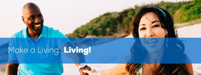 World Ventures Travel Scam - image of a couple walking down the beach from the World Ventures website