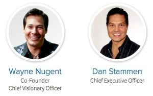 This image shows the founders of World Ventures: Wayne Nugent and Dan Stammen