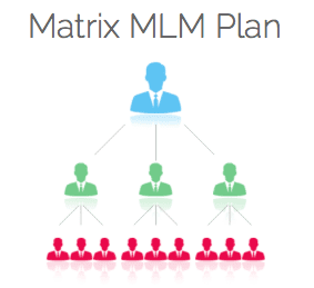 image of a matrix mlm plan structure