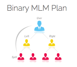 image of a binary mlm plan structure