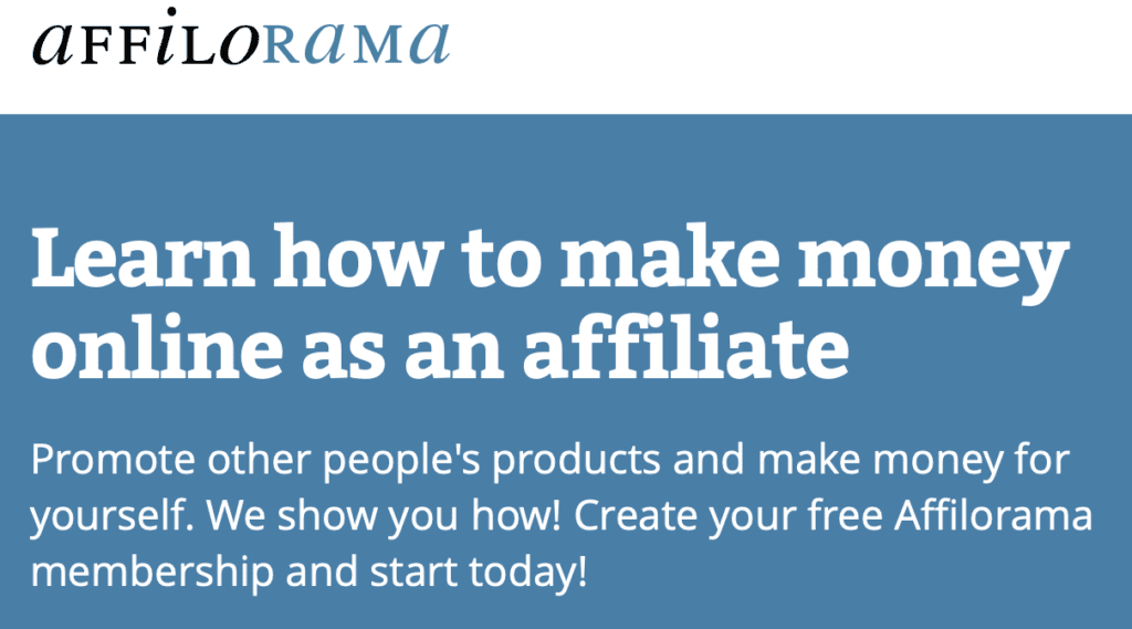 Best affiliate marketing training courses - Affilorama