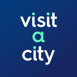 logo for the Visit A City travel itinerary service