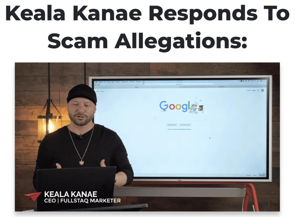keala kanas open letter ad