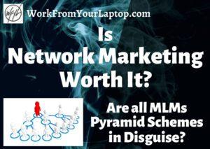 is network marketing worth it