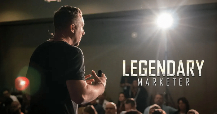 David Sharpe Legendary Marketer