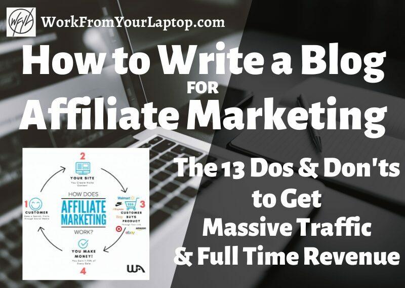 how to write a blog for affiliate marketing