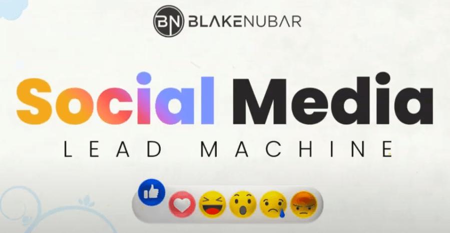 social media lead machine logo