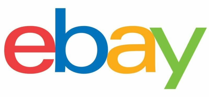 how to sell my stuff online - ebay logo