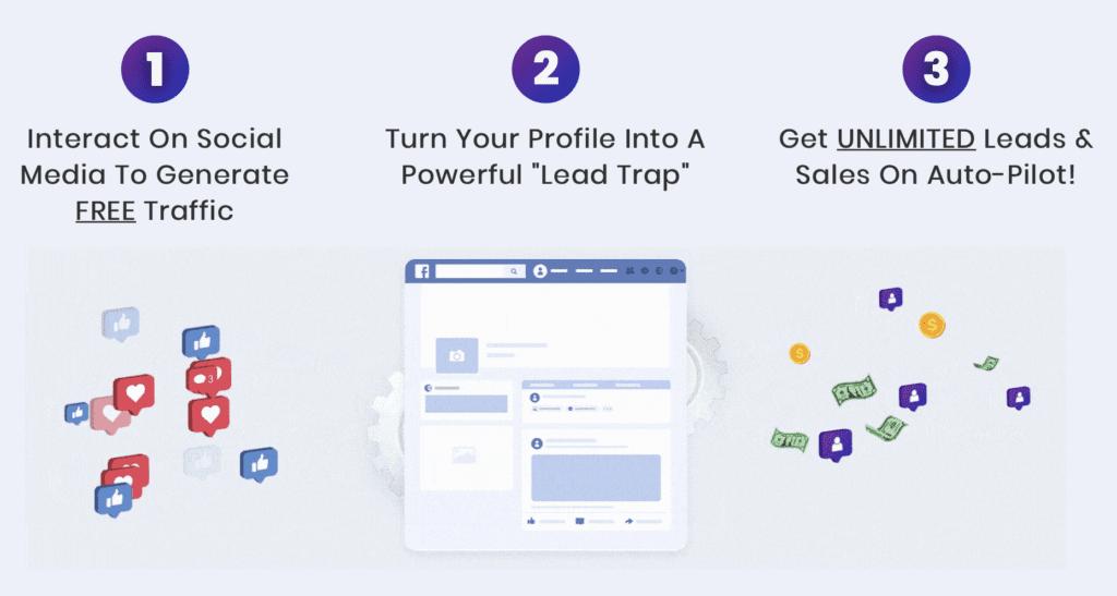 social media lead machine hack your profile