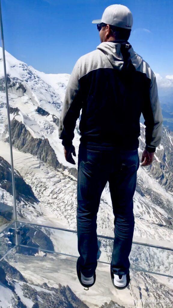 Mont Blanc in Chamonix France 2018